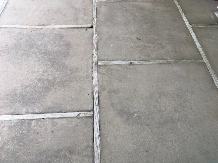 q looking for suggestions on what to do with patio that has rotten wood