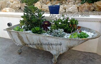 Have You Tried Using an Old Bath to Make Into a Container Garden?