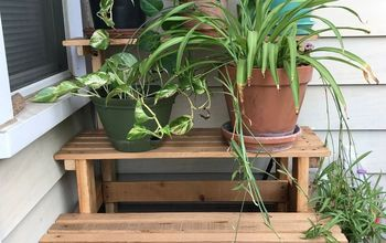 Stair Step Plant Stand