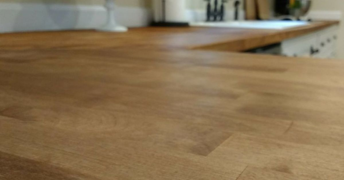 Sealing Butcher Block Countertops With Dark Tung Oil A Food Safe Stain Hometalk