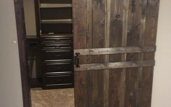 industrial look barn door