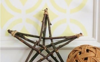 How to Make A Rustic Twig Star
