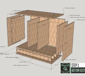 diy custom built ins for living room hometalk rh hometalk com Built in Wall Cabinets DIY Built in Bookshelves and Cabinets