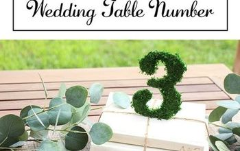 wedding decor table number home decor