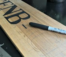 the trick to perfect hand lettered signs