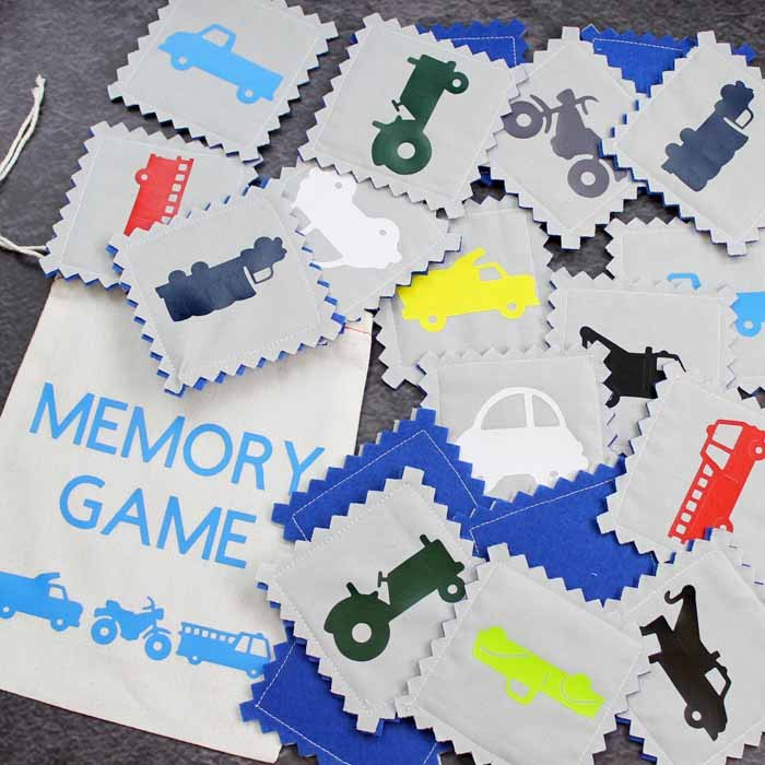 s 15 fun things you can make using your cricut, Toddler Matching Game