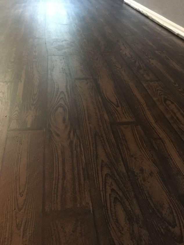 Bedrooms Wood Floor And Rest Carpet