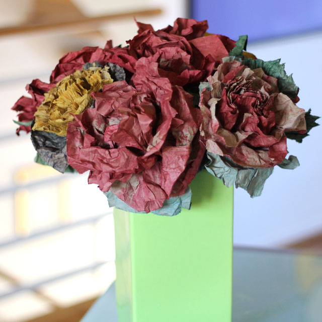 s beautify your home with flower ideas, Brown Paper Bags Transformed