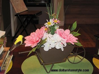 s beautify your home with flower ideas, Floral Centerpiece