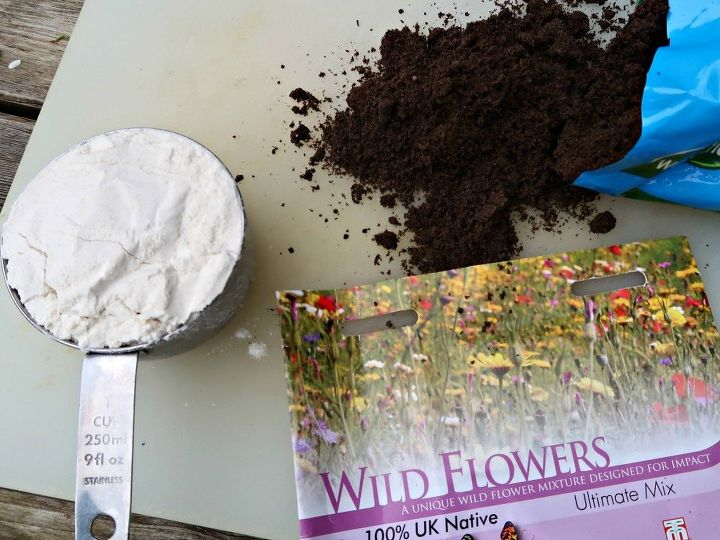 how to make wildflower seed bombs