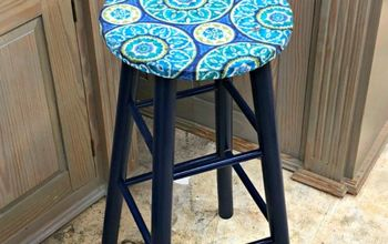Upcycled Bar Stool {Your Cat Will LOVE This}