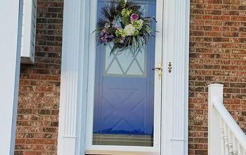 front door kiein blue redo