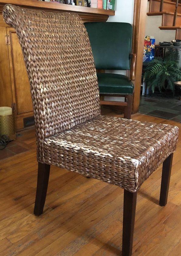 Sensational Wicker Chair Spray Paint Instant Happiness Hometalk Beutiful Home Inspiration Aditmahrainfo