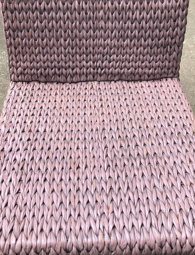 wicker chair spray paint instant happiness