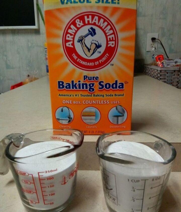 2 cups of baking soda
