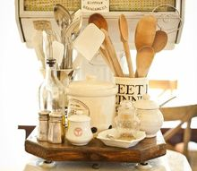using antiques to show off everyday items