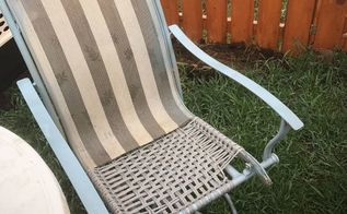 broken patio chair rescue