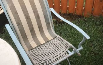 Broken Patio Chair Rescue!!