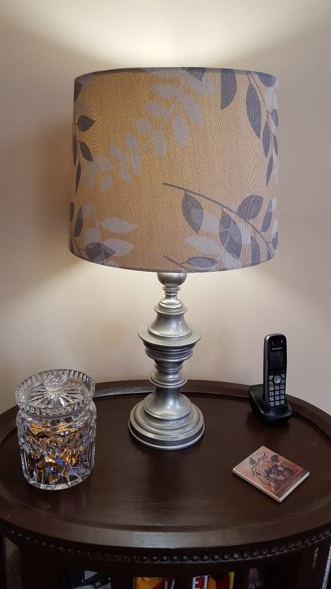 s spruce up your plain lamp with one of these great ideas, A Lamp Base Paint Makeover