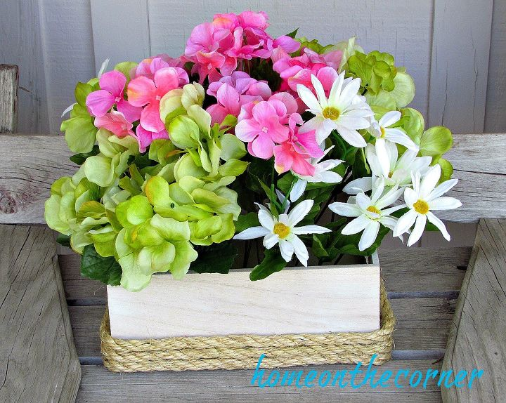 s 15 inspirational ideas for spring flowers, Simple Flower Box