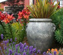 q low maintenance garden pots