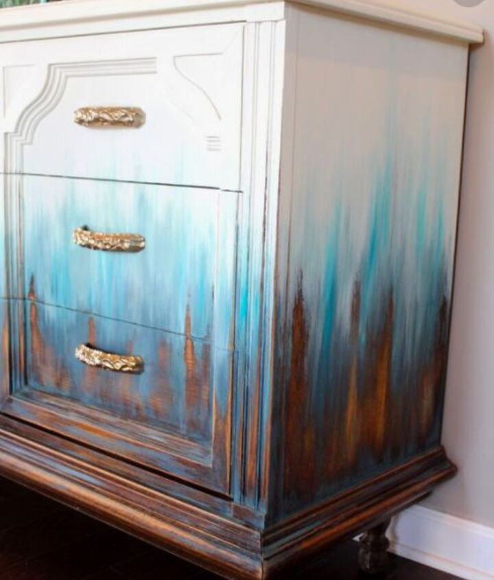 q i want to paint my furniture like this how do i do it