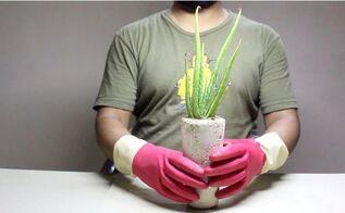 diy soda can concrete planter easy build anyone can make