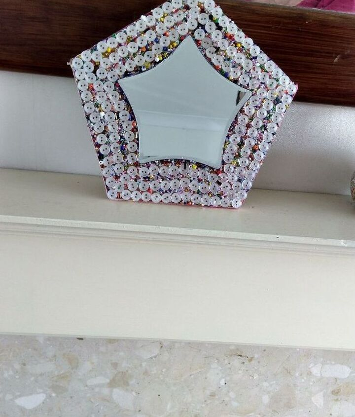 Finished mirror.