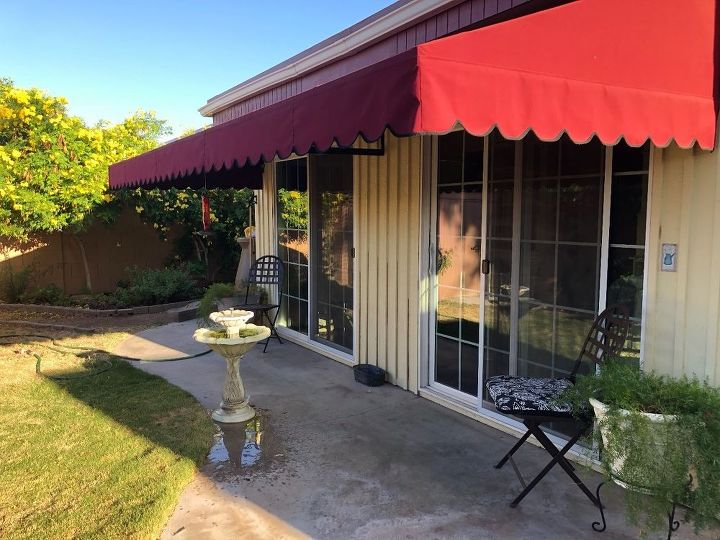 q how do i give my small patio and back yard a french country look