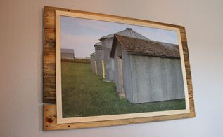 farmhouse pallet wall decor