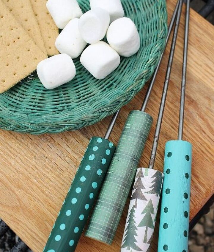 decorate your own hot dog marshmallow roasting sticks
