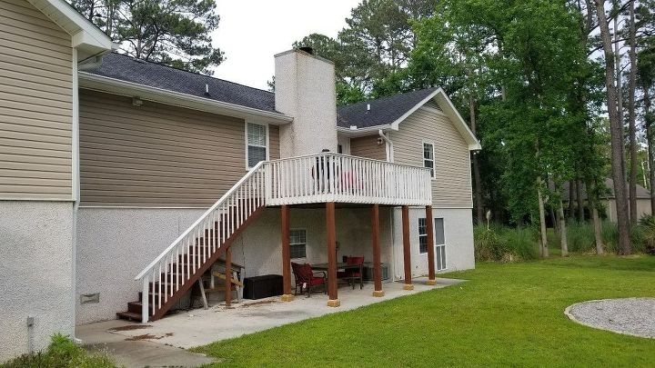q how to add a covered roof to deck