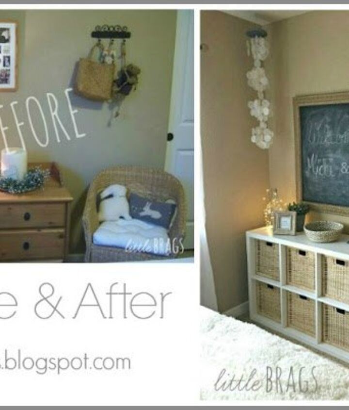 a guest bedroom make over with boho accents