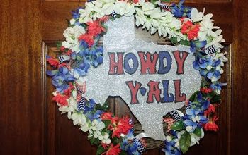 howdy y all texas wreath tutorial