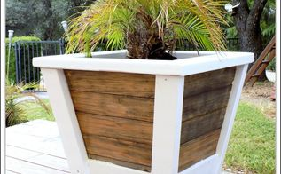diy large farmhouse planter