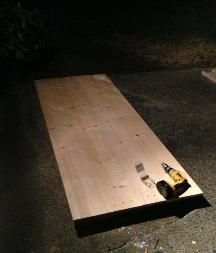 a diy dining room table
