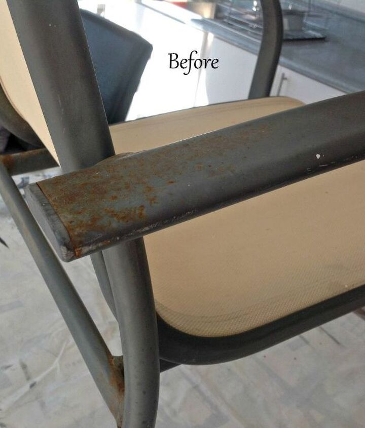 revamping pation chairs
