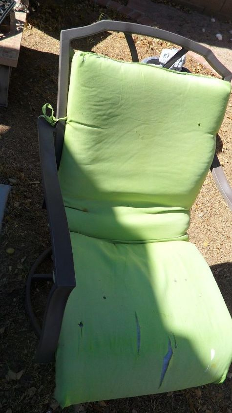 Upgraded Lawn Chairs Hometalk