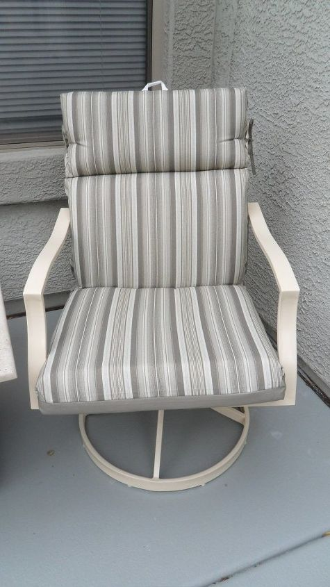 upgraded lawn chairs