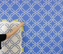 tips for a trendy trellis wallpaper pattern