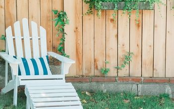 How to Spray Paint Wooden Adirondack Chairs