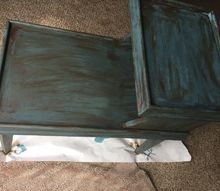 free side table turned into treasure with 2 chalk paint