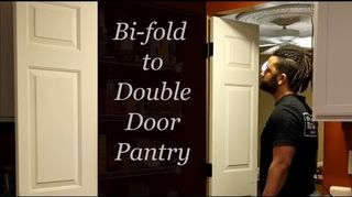 Can I Make Two 24 Bifold Doors Into One Smooth 48 Quad