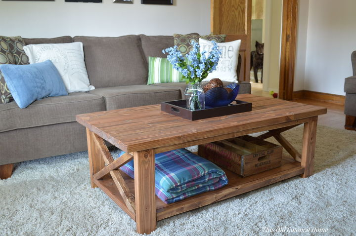 s 21 pieces of furniture that diyers made from scratch, DIY Coffee Table For 100