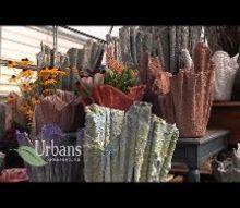 plant pots out of towels