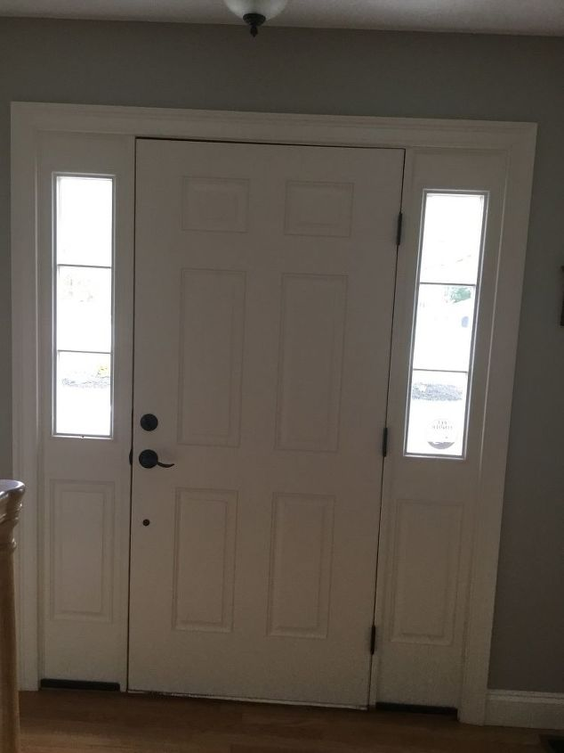 q this may sound silly but has anyone ever hung a mirror over a door