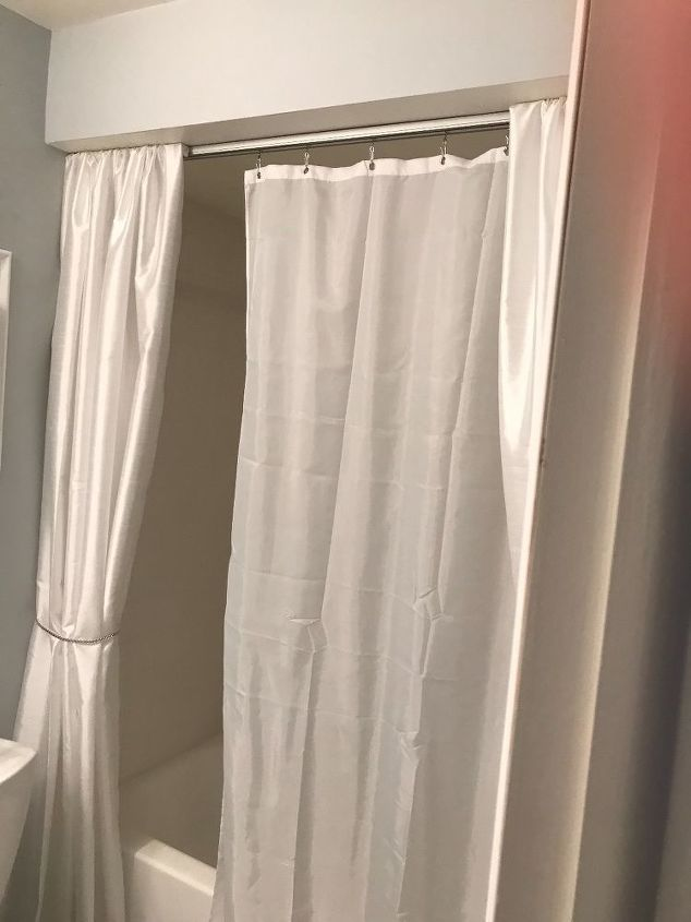 Shower Curtains Ceiling Tracks