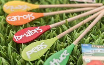 Wood Spoon Garden Markers