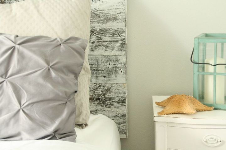 how to diy a headboard in 15 minutes