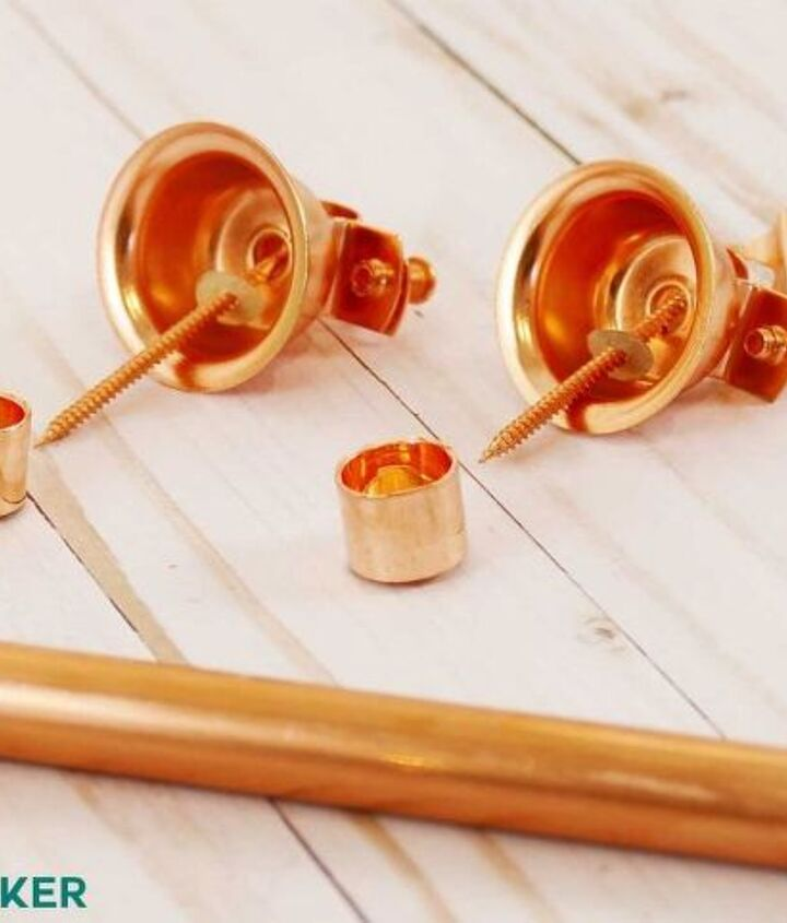 easy copper pipe curtain rods